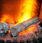 Камины с эффектом пламени 3D