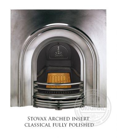 Каминная вставка Stovax Arched insert classical fully polished