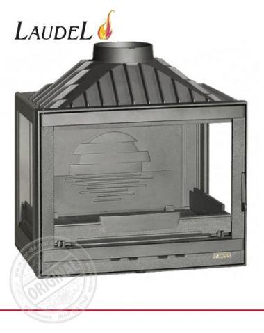 Каминная топка Laudel 700 Compact трехсторонняя