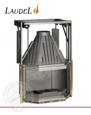 Каминная топка Laudel 850 Prismatique Relevable