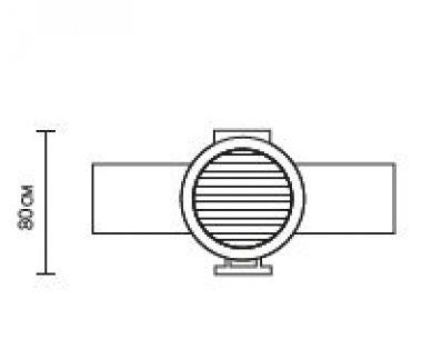 Угольный гриль Monolith BASIC Ø решётки: 46 см