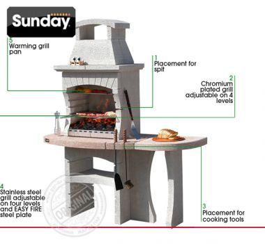 Печь барбекю Sunday Grill Congo