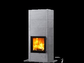 Теплоаккумулирующая печь-камин SALVO S