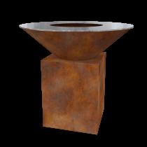 Дизайнерский мангал AHOS Original rust