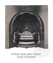 Каминная вставка Stovax Adelaide insert fully polished