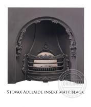 Каминная вставка Stovax Adelaide insert matt black