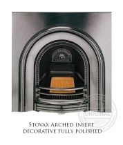 Каминная вставка Stovax Arched insert decorative fully polished