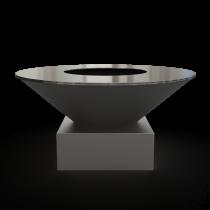 Дизайнерский мангал AHOS Original low black
