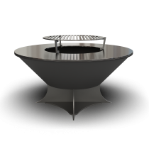 Дизайнерский мангал AHOS Olympic low black