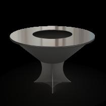Дизайнерский мангал AHOS Olympic 1000 low black