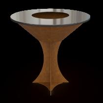 Дизайнерский мангал AHOS Olympic 1000 rust