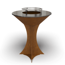 Дизайнерский мангал AHOS Olympic rust