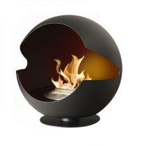Биокамин Vauni Globe black