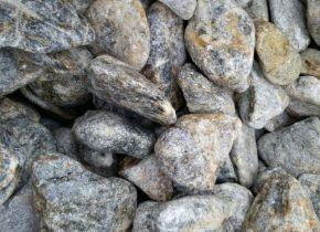Камень для бани - талькохлорит, обвалованный