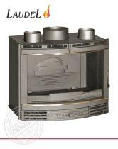 Каминная топка Laudel 700 Grande Panoramique кассета с латунными вставками
