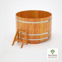 Купель круглая из лиственницы Bentwood