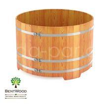Купель круглая из лиственницы, 1500х1500 мм