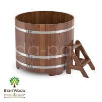 Купель круглая из лиственницы мореной Bentwood
