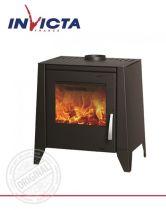 Печь-камин Invicta Aures steel