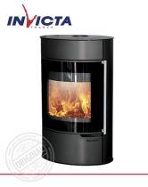Печь-камин Invicta Tana GA on base steel