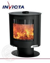 Печь-камин Invicta Tana steel
