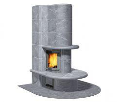Теплоаккумулирующая печь-камин GEMINI