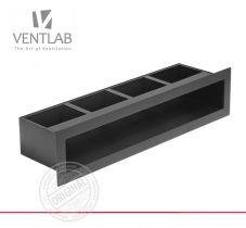 Решетка для камина Ventlab Open с рамкой в разных размерах и цветах