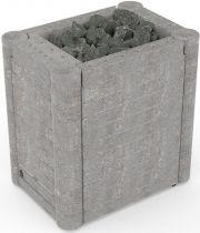 Каменка электрическая Sawo NIMBUS COMBI NIMC-150NS (талькохлорит)