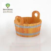 Шайка для бани Bentwood из лиственницы, 15 л