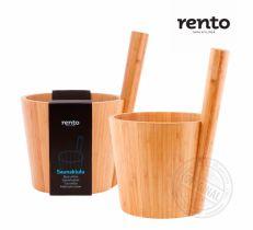 Шайка Rento из бамбука
