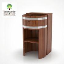 Умывальник-стойка Bentwood из лиственницы мореной