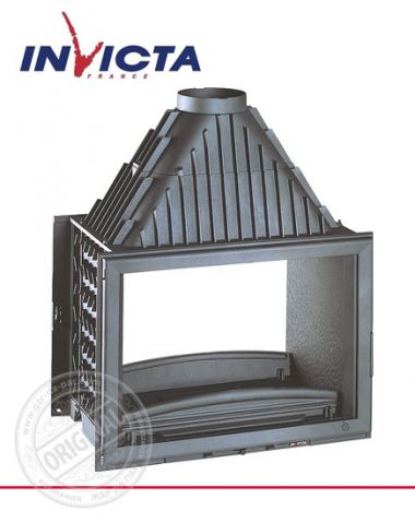 Топка каминная Invicta 800 Grande Vision Double Face