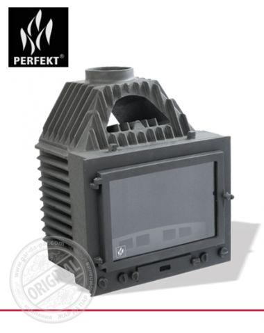 Топка каминная цельнолитая Perfekt 16 kW Retro