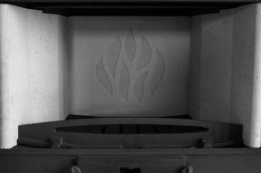 Топка каминная цельнолитая Perfekt 17 kW Panorama Lux Akubet