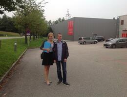 Наши сотрудники на семинаре австрийской каминной фабрики Austroflamm!