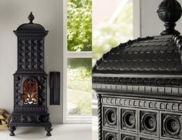 Шведский камин с более чем 150-летней историей у нас в наличии в салоне!